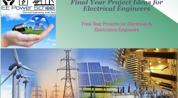 Final Year Project ideas for Electrical engineers