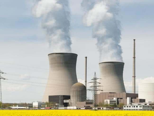 Nuclear Power Plant in a Power System