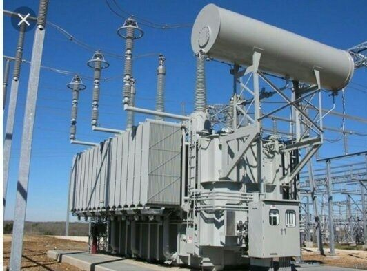 Step-up Power Transformer in a Generating Station