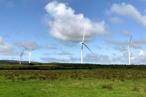 Wind Energy System on Wind Farm