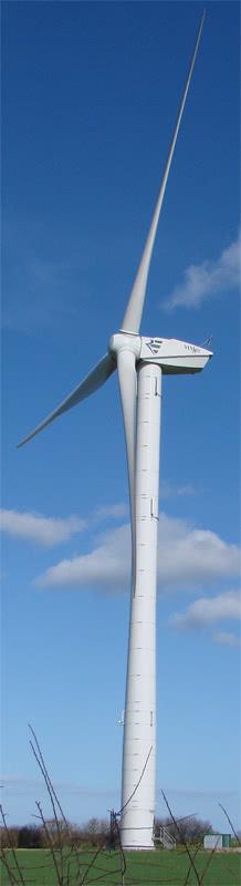 Propeller Shaft Wind Power Plant Design