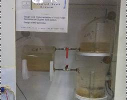 Coupled liquid tanks system for Digital Controller Design