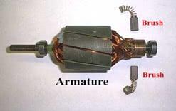 Armature Winding of a DC Machine